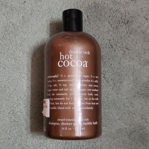 NWT Philosophy hot cocoa shampoo & shower gel